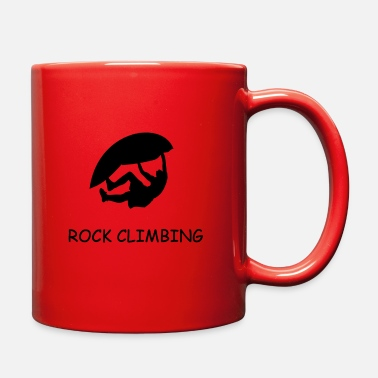 Rock Climbing rock climbing - Full Color Mug