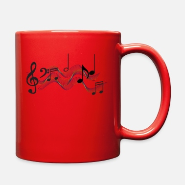 Music Is Life Musical Note - Full Color Mug