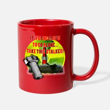 Fps Russia Radioactive Warning - Full Color Mug
