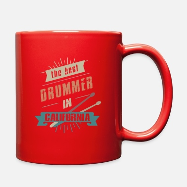 Drummer Of California - Full Color Mug