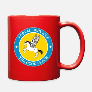 Good The Good Place : Postal Services - Full Color Mug