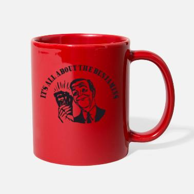 Franklin All about the Benjamins - Full Color Mug