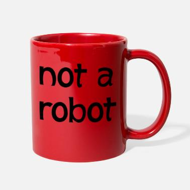 Robot not a robot - Full Color Mug