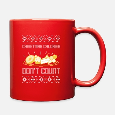Christmas Calories Don't Count | Ugly Sweater - Full Color Mug