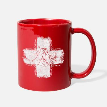 Swiss Cross Swiss cross - Switzerland - Swiss - Full Color Mug