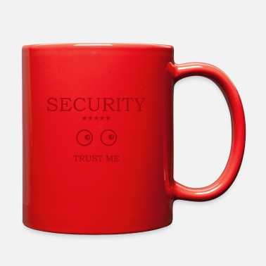 Eye Monitoring Security Eyes looking - Full Color Mug