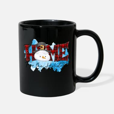 Holidays Christmas Home For The Holidays - Full Color Mug