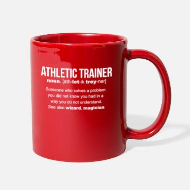Athletic Athletic Trainer Definition Mug - Full Color Mug