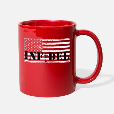 infidel distressedBW - Full Color Mug