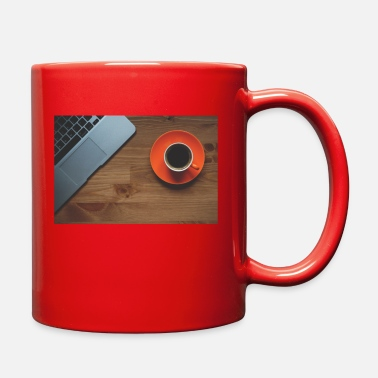 Mousepad Enjoy work with a cup of coffee - Full Color Mug