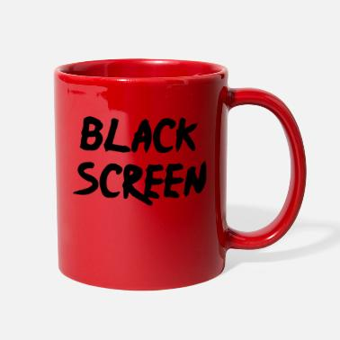 Screen Black Screen - Full Color Mug
