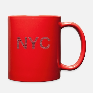 5 Boroughs NYC 5 Boroughs - Full Color Mug