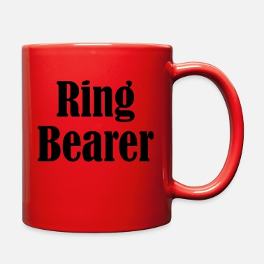 Wedding Day Ring Bearer, Wedding Ring, Wedding Day - Full Color Mug