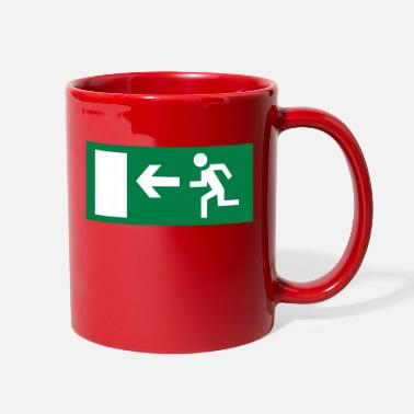 Emergency Emergency Exit - Full Color Mug