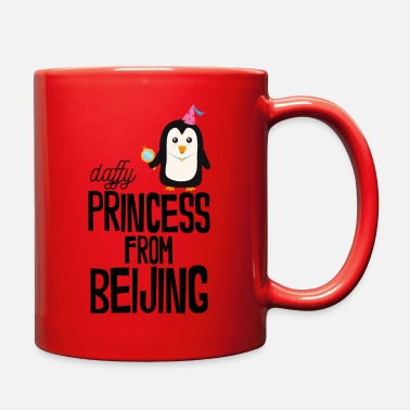 Ancient daffy Princess from Beijing - Full Color Mug