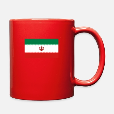 Iran Flag National Flag Of Iran - Full Color Mug