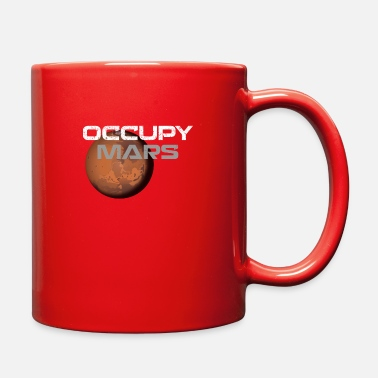 Occupy occupy mars - Full Color Mug