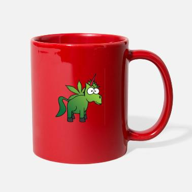 Horse weed ganja horse unicorn - Full Color Mug