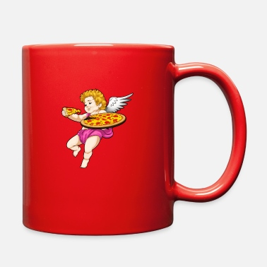 Pizza Cupid Pizza - Full Color Mug