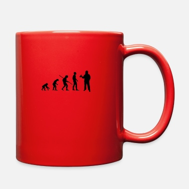 Neanderthal From the Neanderthal to the fireman - Full Color Mug
