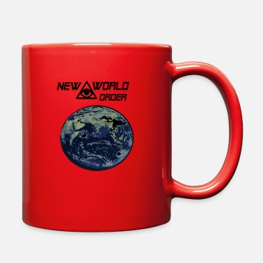 New World Order new world order - Full Color Mug