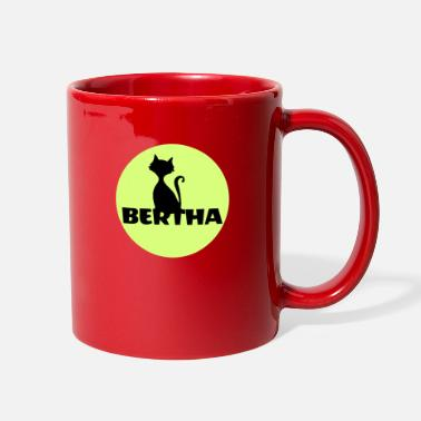 First Name Bertha name first name - Full Color Mug