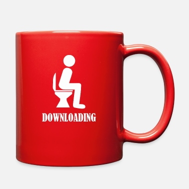 Download Downloading - Full Color Mug