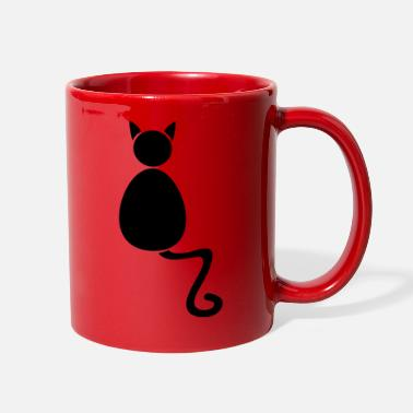 Sit Sitting cat - Full Color Mug