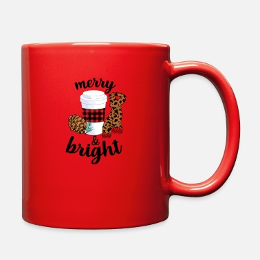 Merry And Bright For Light merry and bright - Full Color Mug