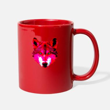Wild wolf - Full Color Mug
