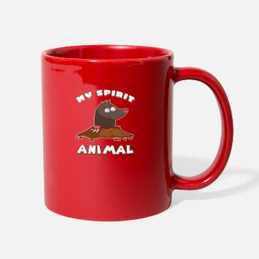 Shortsighted Mole, nearsighted, molehill gift - Full Color Mug