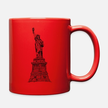 Statue-of-liberty statue of liberty - Full Color Mug