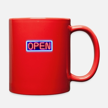 Open Open - Full Color Mug