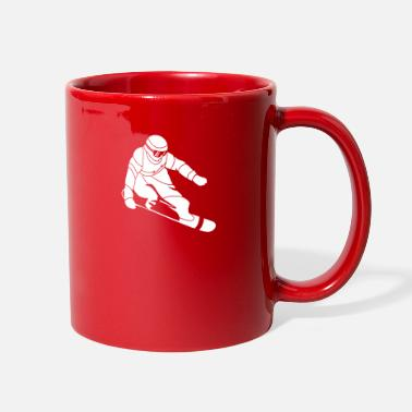 Freeriding Snowboarding Snow Boarder Winter Sport Birthday - Full Color Mug