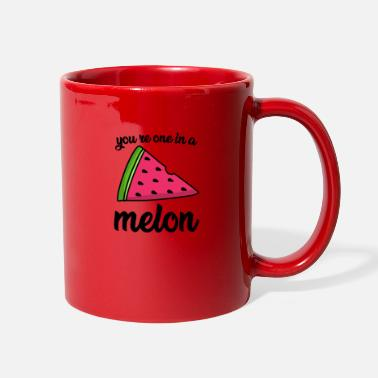 Watermelon One in A Melon Watermelon Fruit Gift - Full Color Mug