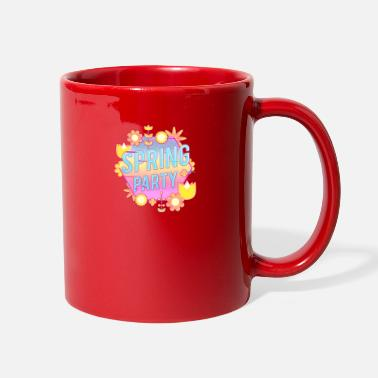 Party Spring Party Flower and Plants - Full Color Mug
