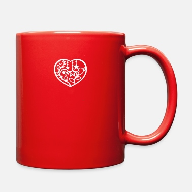 Romantic Heart - Full Color Mug