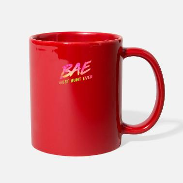 Coolest Uncle Women Bae Best Aunt Ever - Full Color Mug