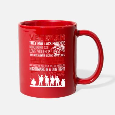 Veteran Veteran Tshirt - Full Color Mug