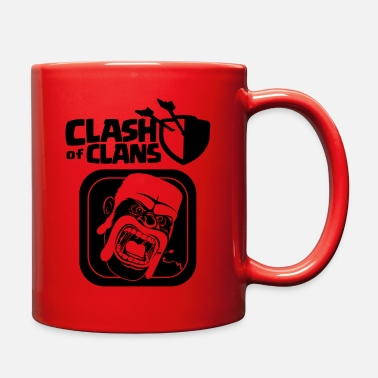 Clash Of Clans Barbarian Clash of Clans - Full Color Mug