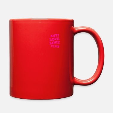 Anti Love LOGO ANTI LOVE LOVE CLUB SOCIAL - Full Color Mug