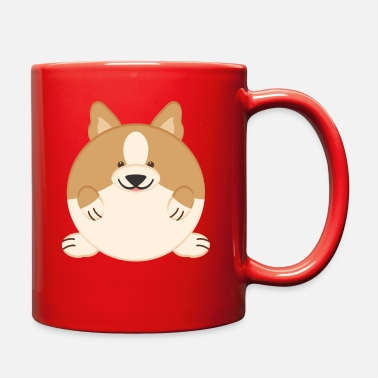 Puppy Cute Fat corgi Dog - Full Color Mug