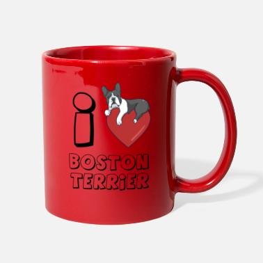 Boston Terrier S Boston Terrier - Full Color Mug