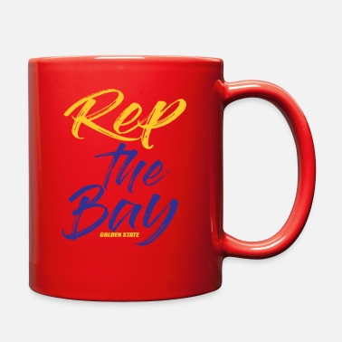 Rep The Bay Golden State - Full Color Mug
