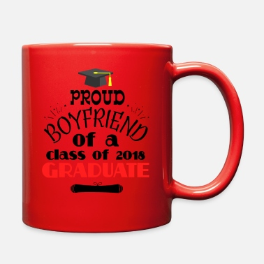 High School Graduate High School College Graduation Proud Boyfriend - Full Color Mug