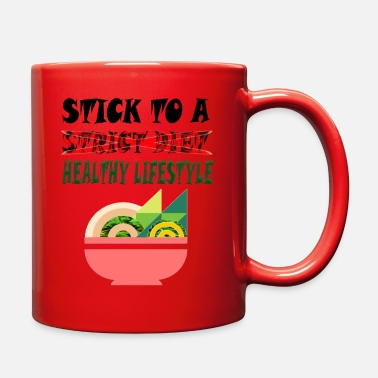 Stick to a healthy lifestyle - Full Color Mug