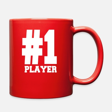 Player Number Number 1 Player Shirts | Fancy For Players - Full Color Mug