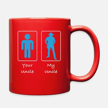 Uncle Your Uncle My Uncle Cowboy - Full Color Mug