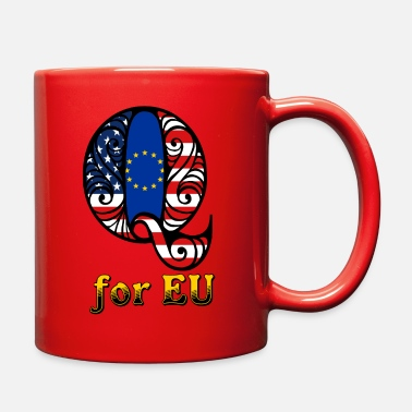 Eu Q for EU - Full Color Mug