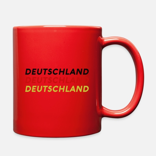 Germany Mugs & Drinkware - germany - Full Color Mug red